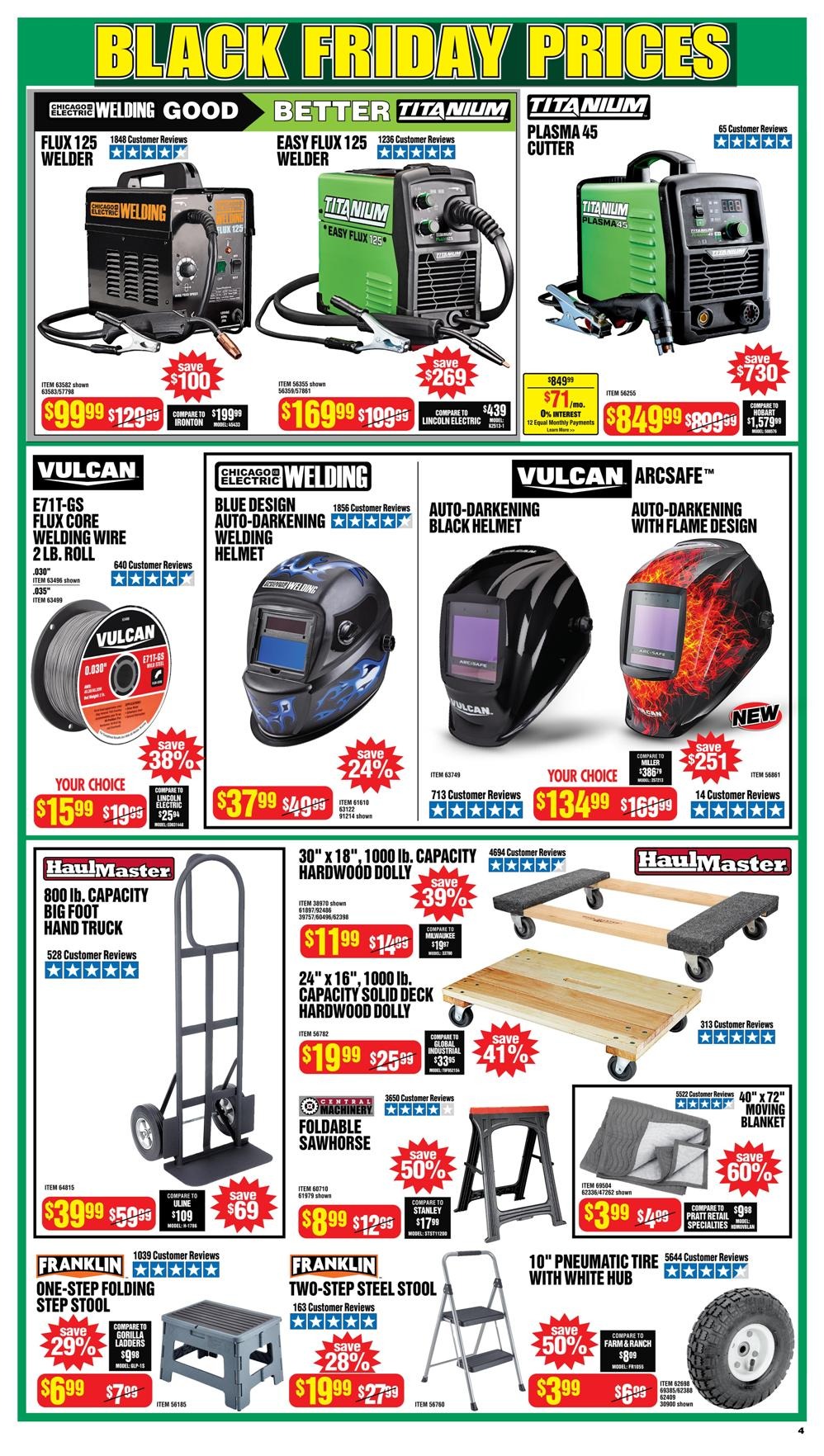 Harbor Freight Black Friday 2020 Page 4