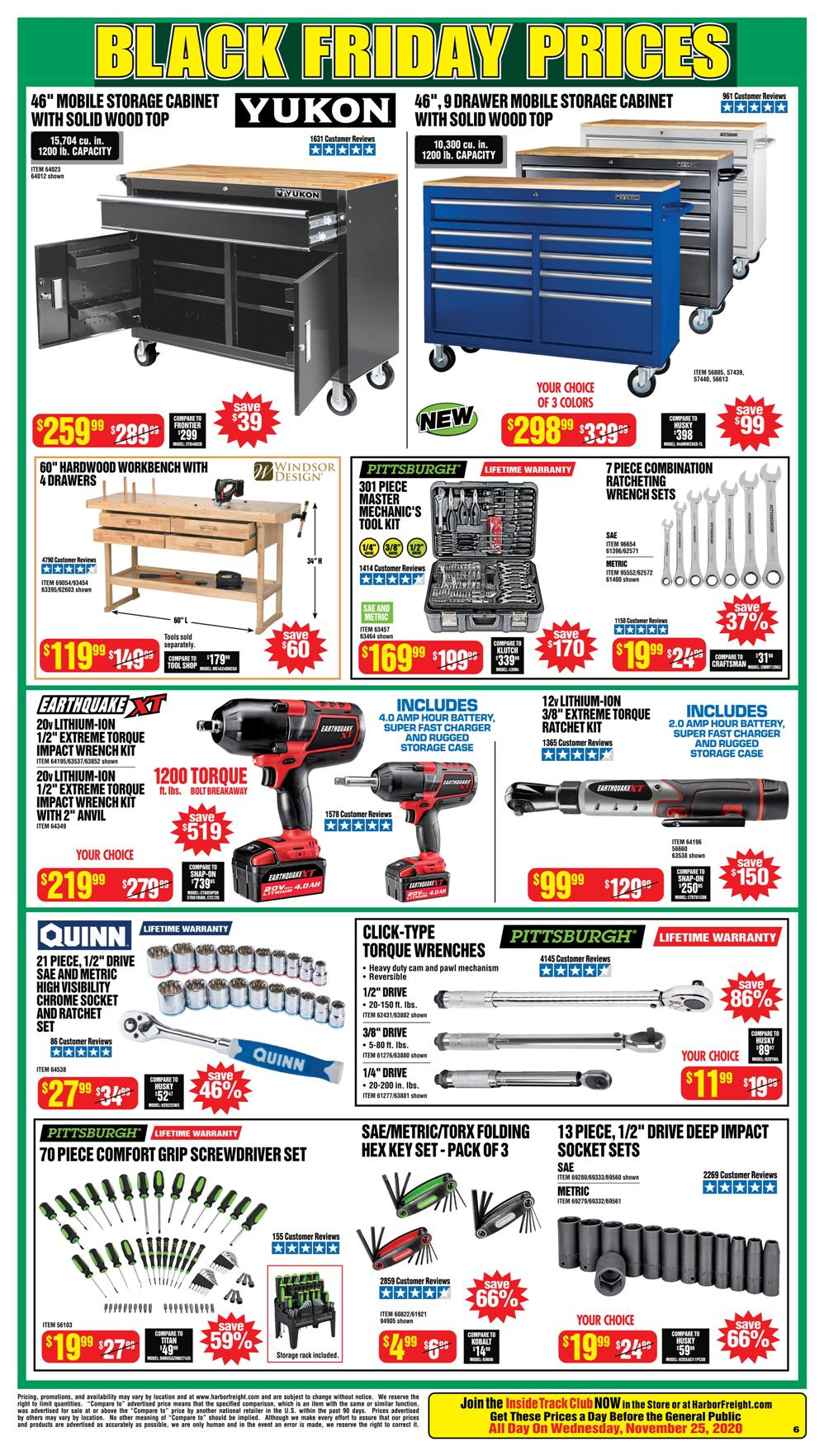 Harbor Freight Black Friday 2020 Page 6