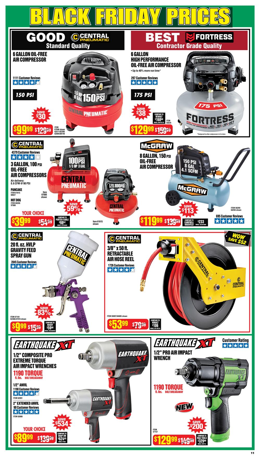 Harbor Freight Black Friday 2020 Page 11