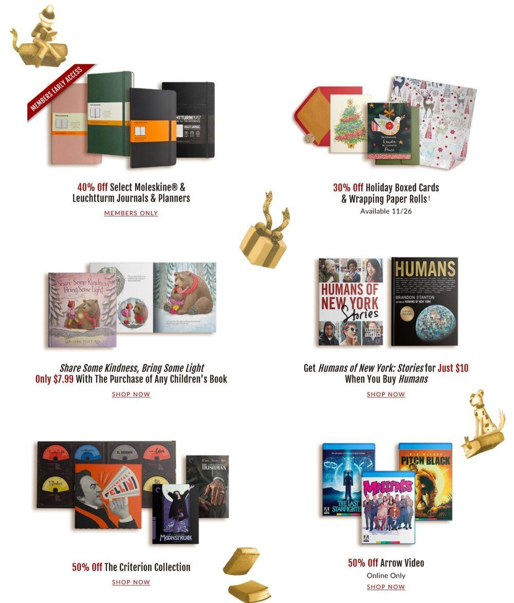 Barnes & Noble Black Friday 2020 Page 4