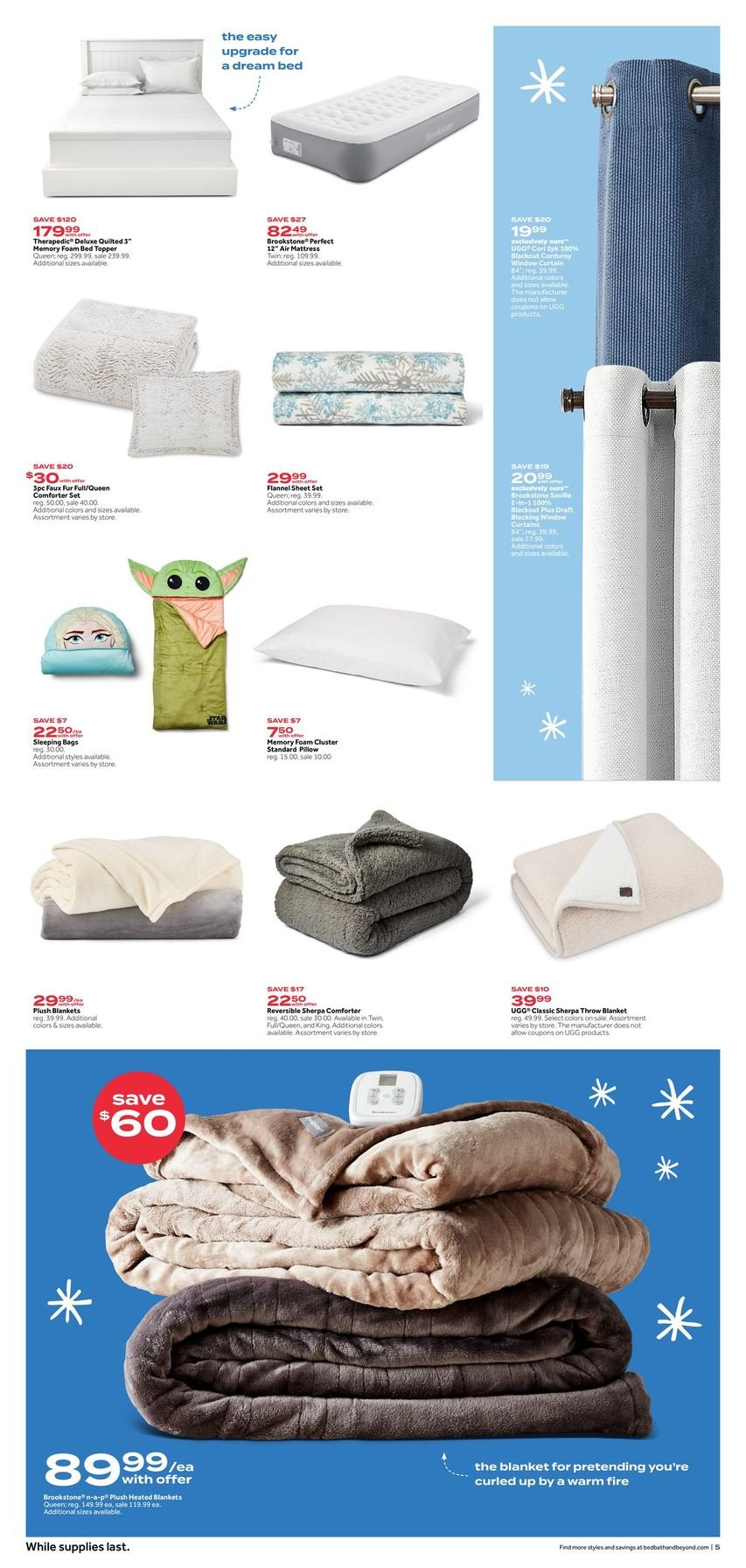 Bed Bath & Beyond Black Friday 2020 Page 5