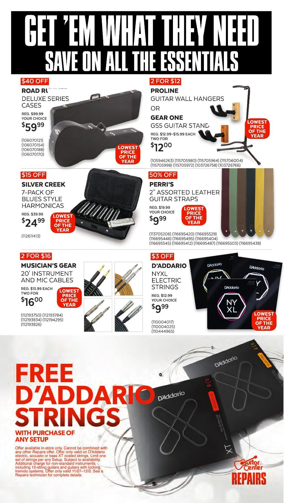 Guitar Center Black Friday 2020 Page 10