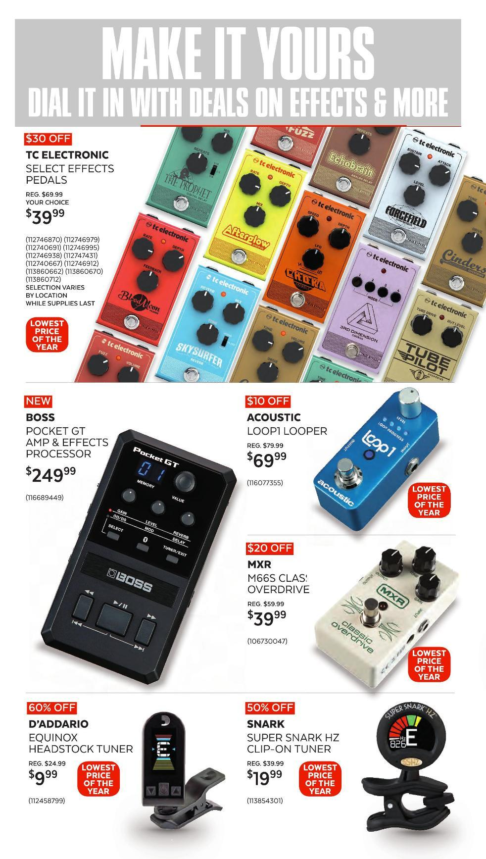 Guitar Center Black Friday 2020 Page 11