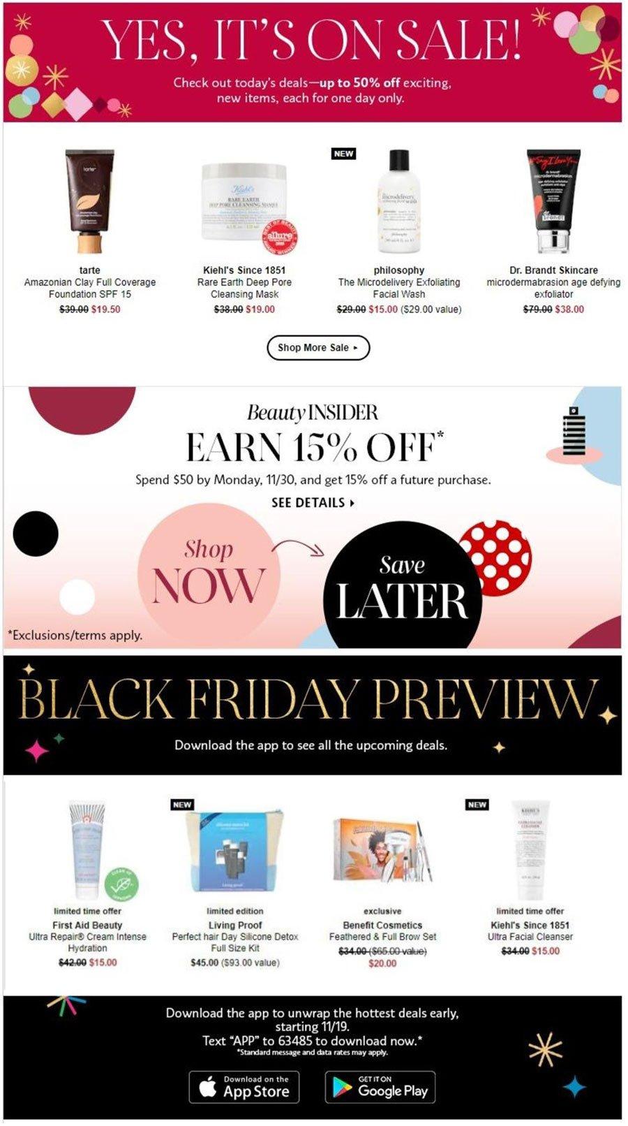 Sephora Black Friday 2020 Page 2