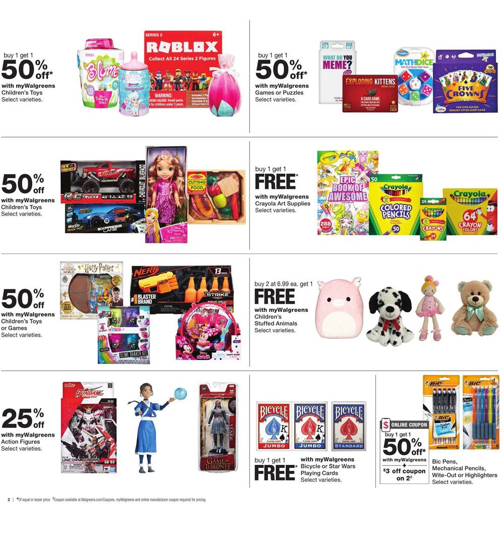 Walgreens Black Friday 2020 Page 3