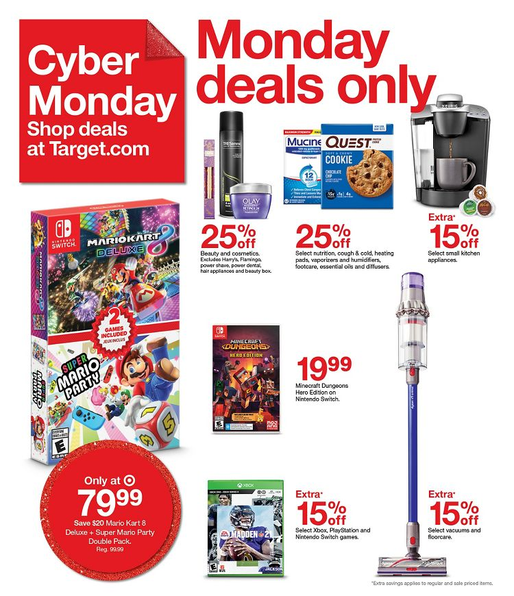 Target Cyber Monday 2020 Page 7