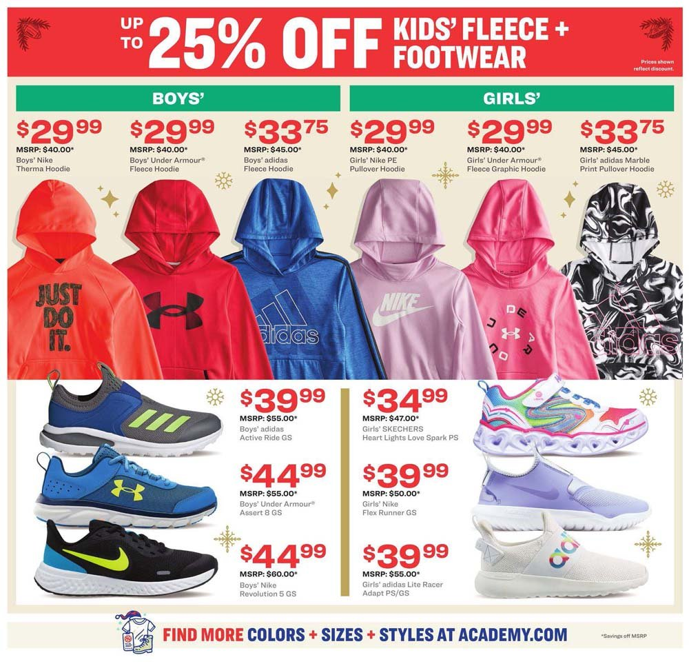 Academy Sports & Outdoors Cyber Monday 2020 Page 3