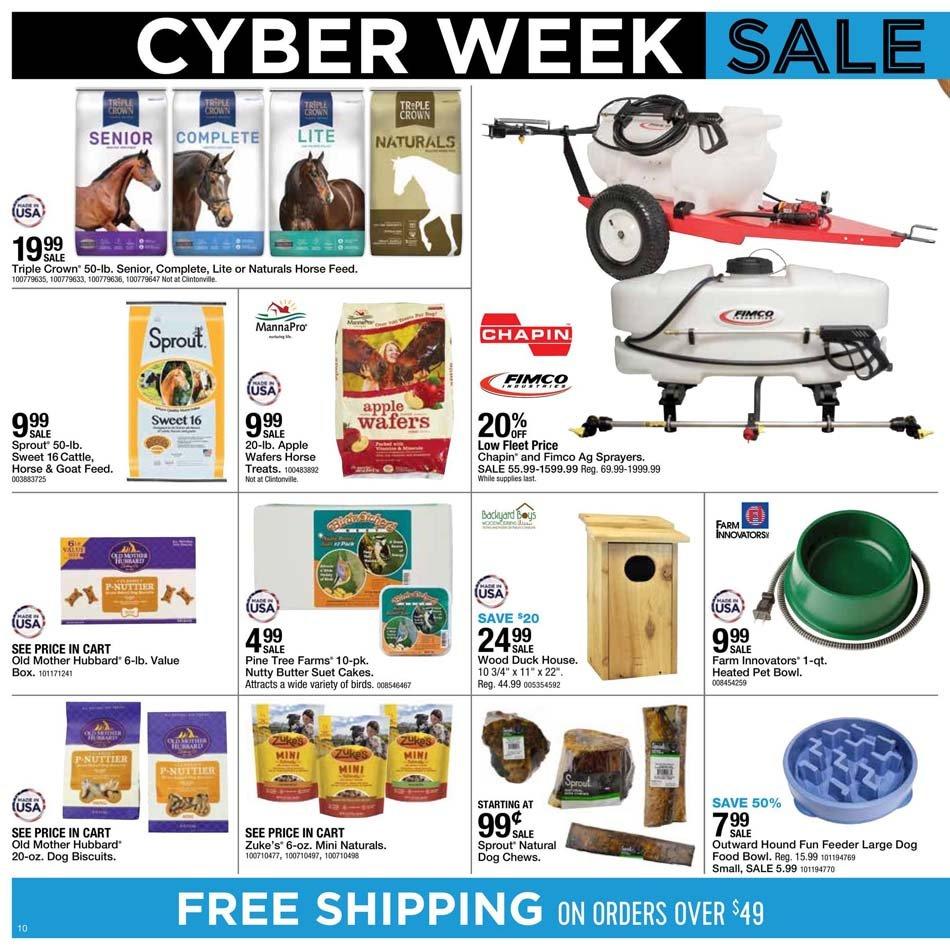 Fleet Farm Cyber Monday 2020 Page 10