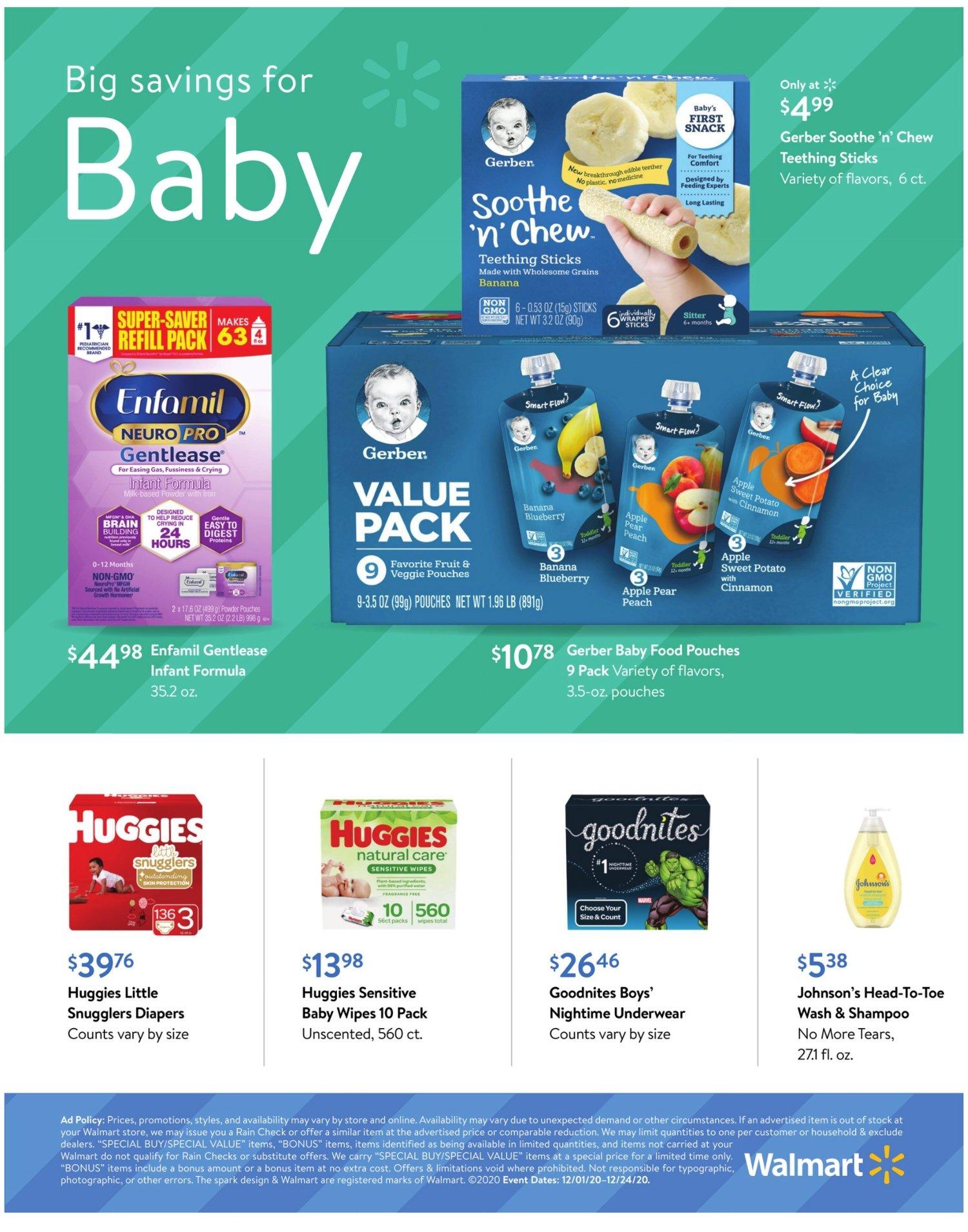 Walmart Weekly December 1 - 24, 2020 Page 12