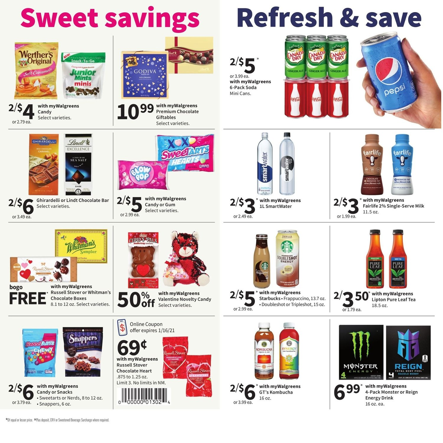 Walgreens Weekly January 10 - 16, 2021 Page 26