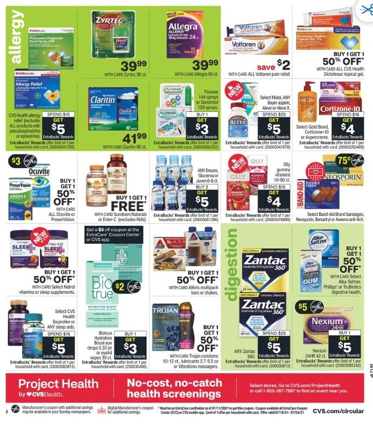 CVS Weekly July 18 - July 25, 2021 Page 4