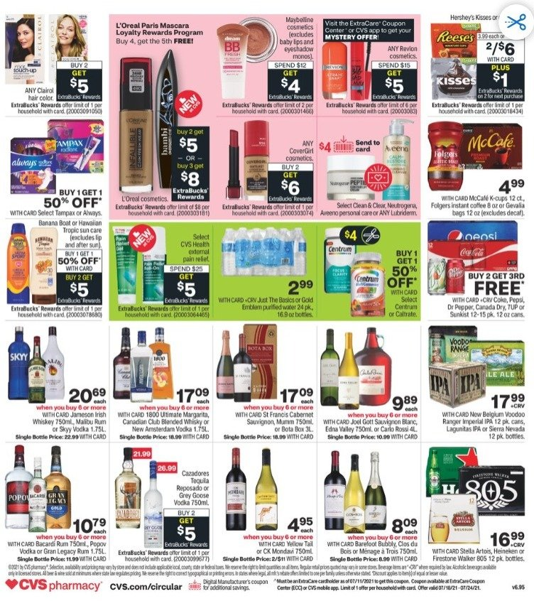 CVS Weekly July 18 - July 25, 2021 Page 2