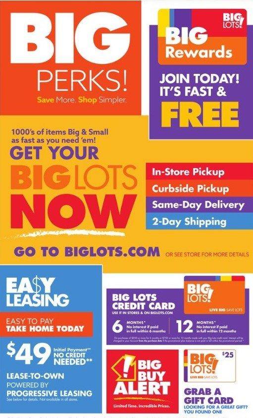 Big Lots Weekly July 24 - July 31, 2021 Page 11