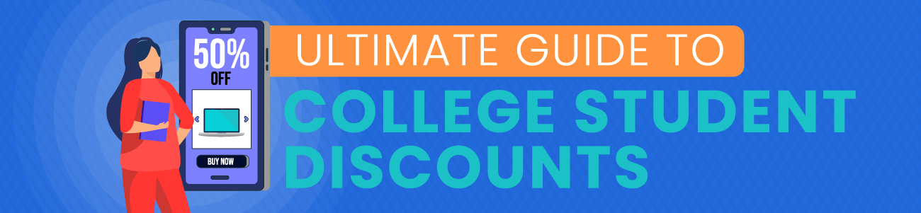 Savings.com Ultimate Guide to College Student Discounts