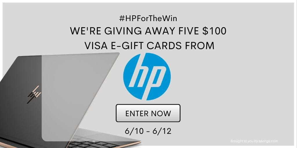 💻Win a $100 Visa Gift Card from HP
