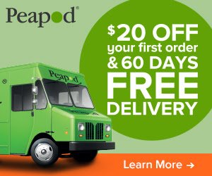 $20 Off at Peapod!