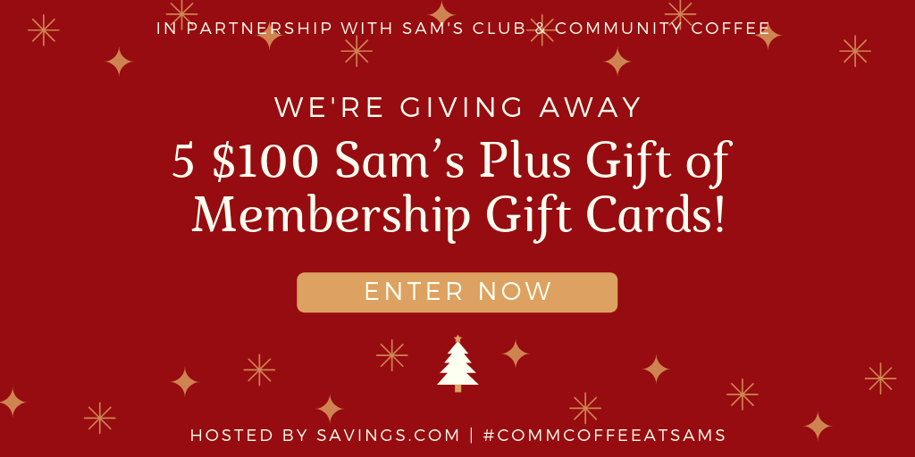 Giveaway 5 100 Sam S Plus Gift Of Membership Gift Cards