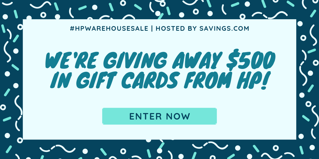 HP Warehouse Sale + $500 Giveaway! | More Crunchy Beach Mama!