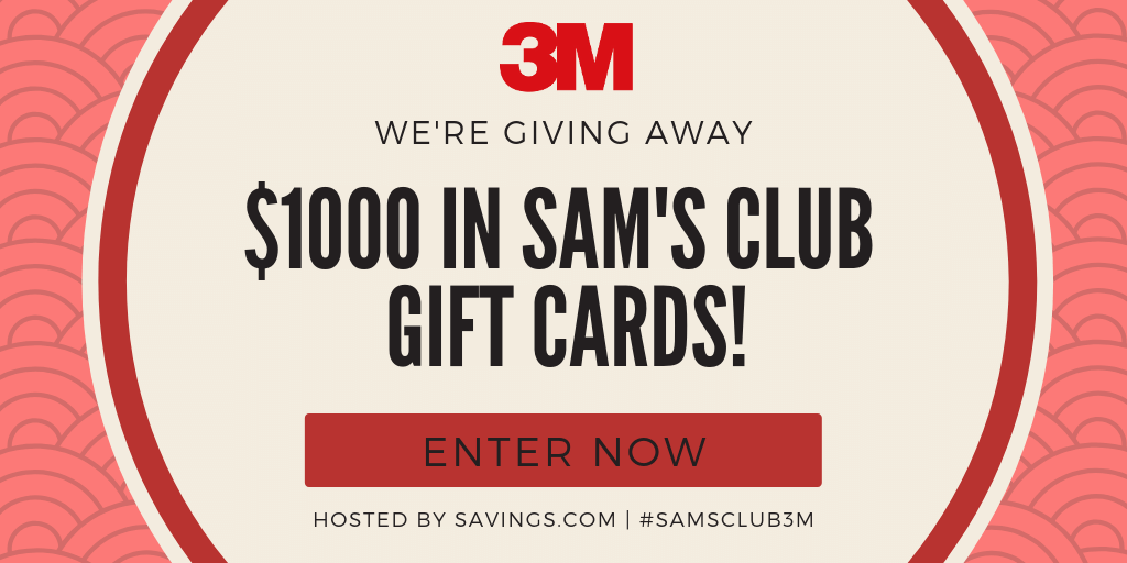 Sam's Club is offering low prices for their members on items that are useful for people who've recently moved, like 3M Filtrete air filters plus GIVEAWAY!