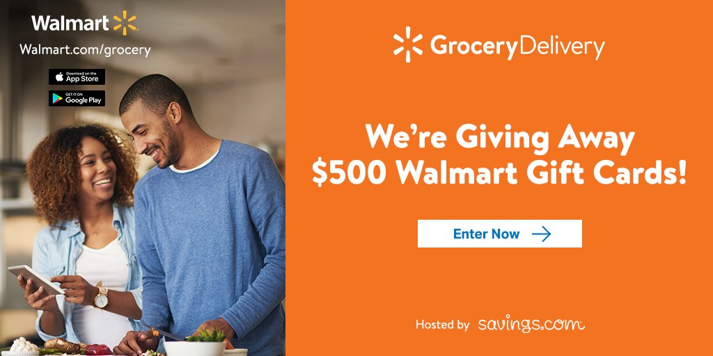 Savings.com Walmart Gift Card Giveaway