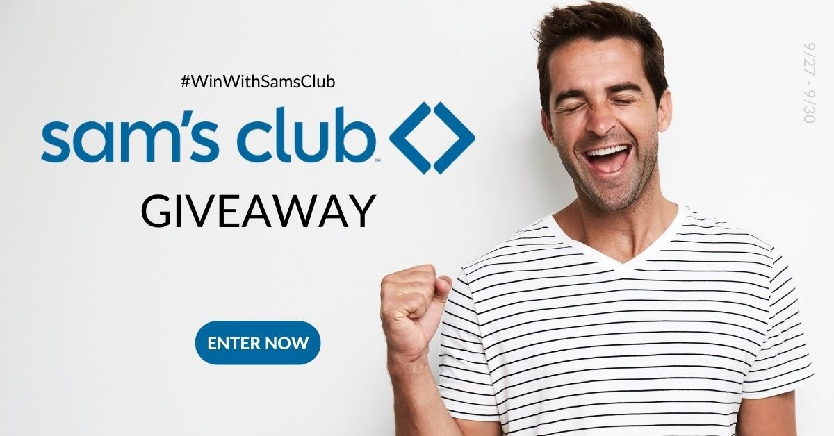 🛒$100 Sam's Club Giveaway (ends 9/30)